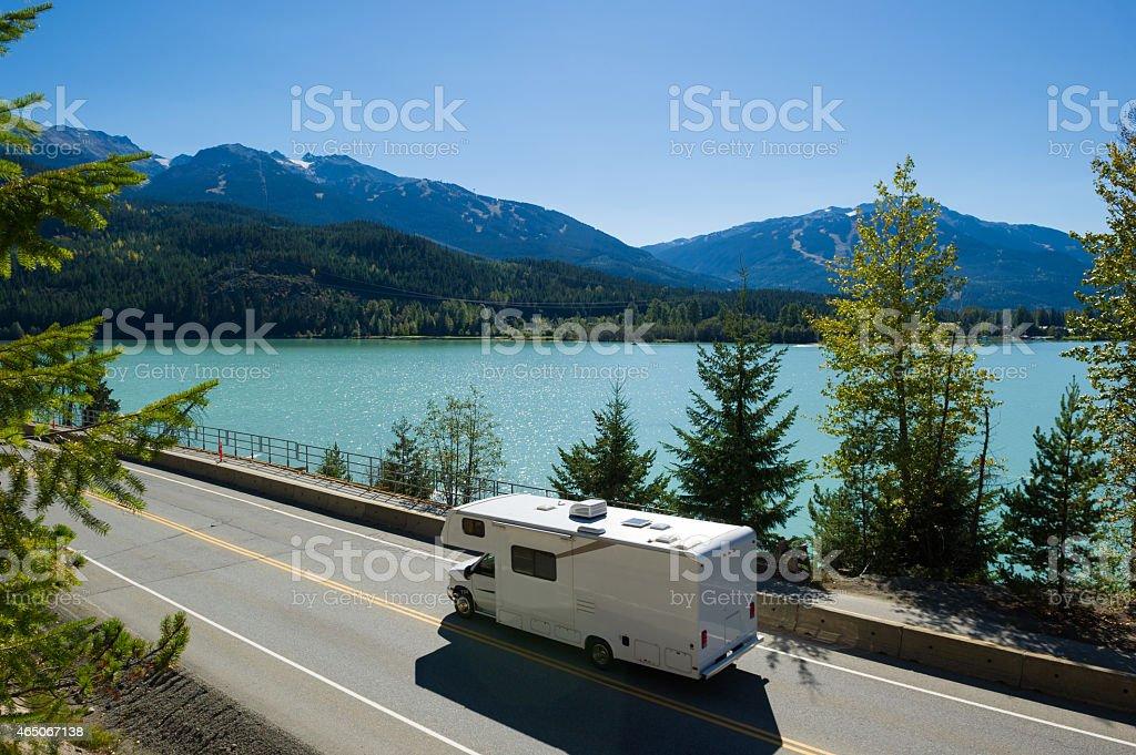 RV Road Trip stock photo