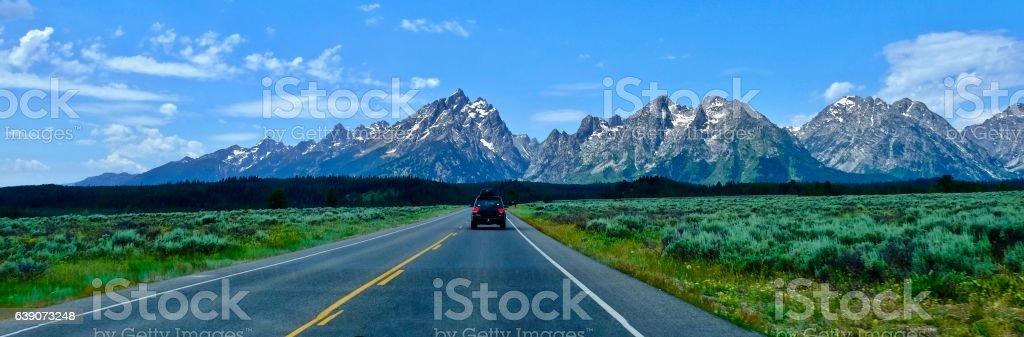 Road trip. stock photo
