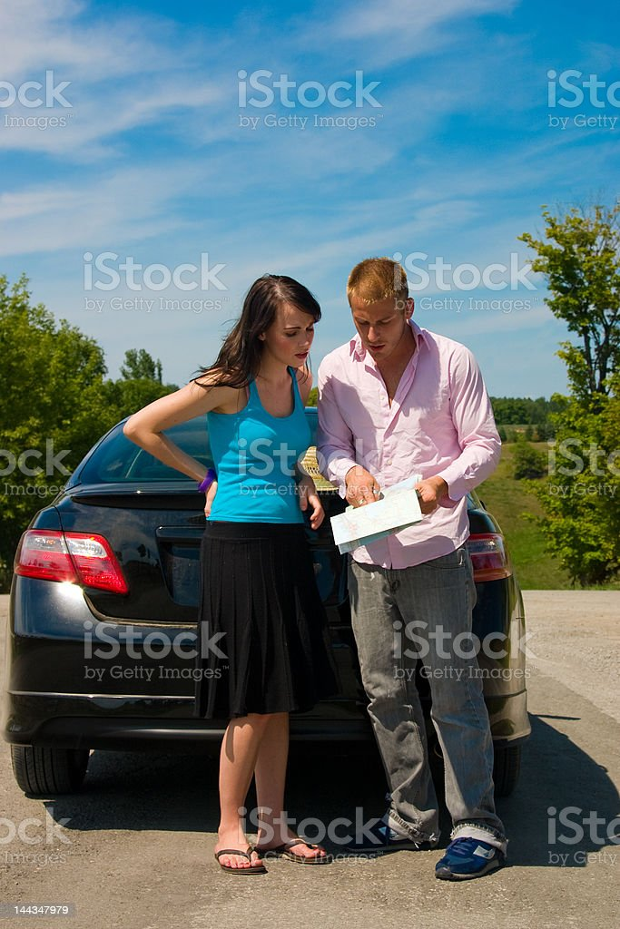 Road Trip - Really Lost stock photo