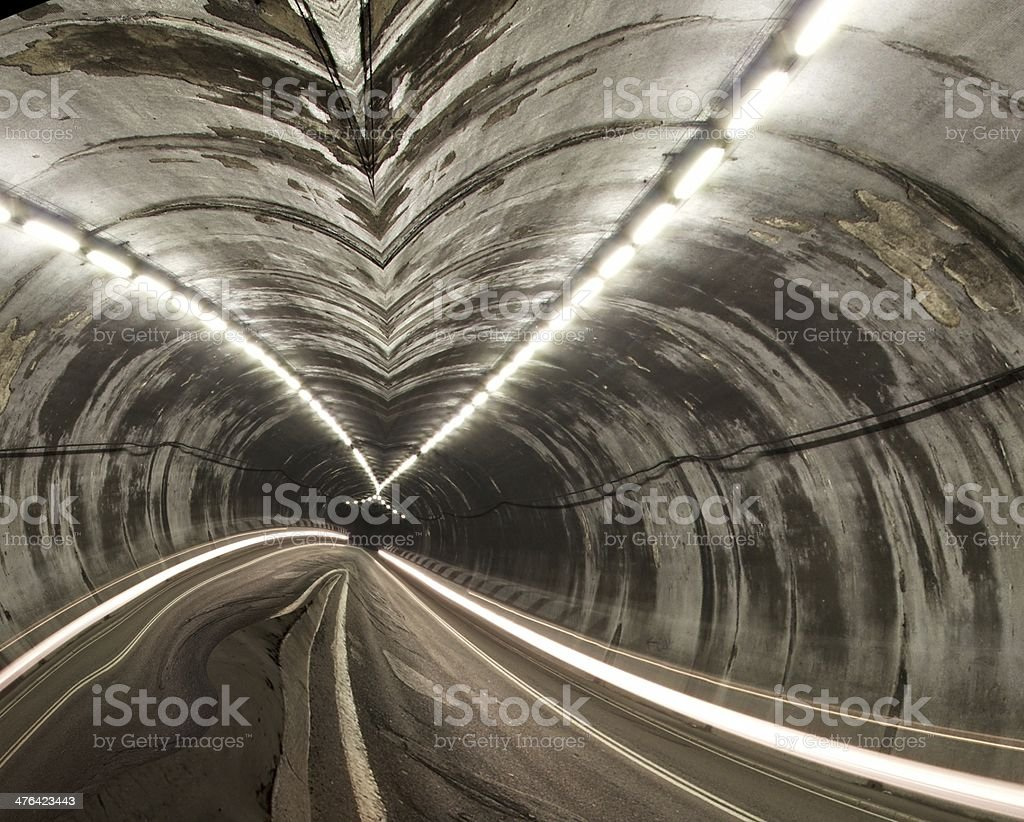 Road tunnel royalty-free stock photo
