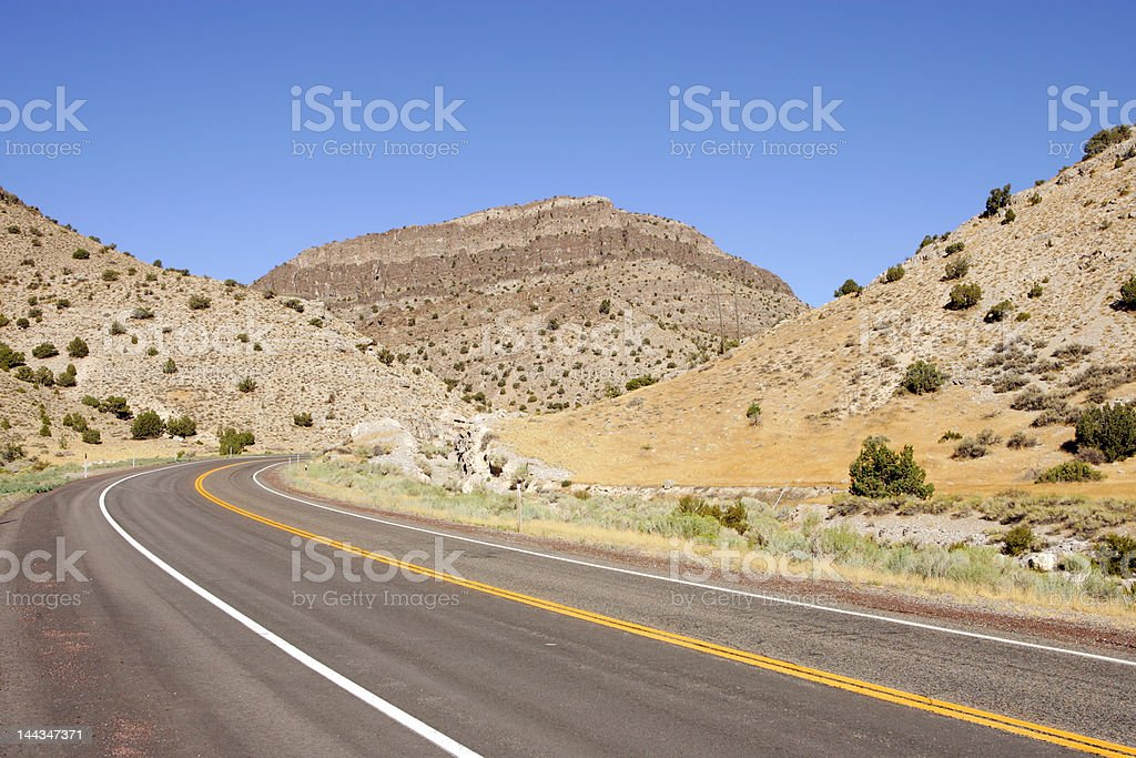 Road USA royalty-free stock photo