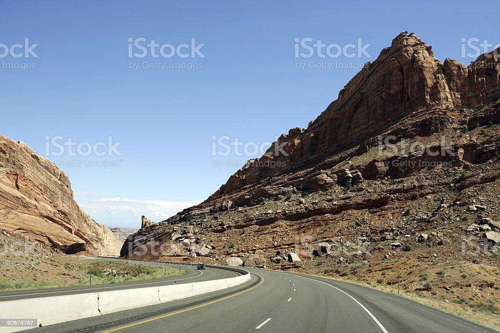 Road USA royalty-free stock photo
