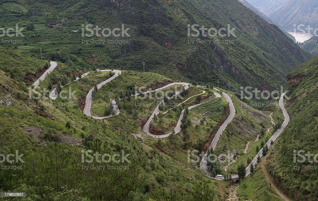 Road Winding royalty-free stock photo