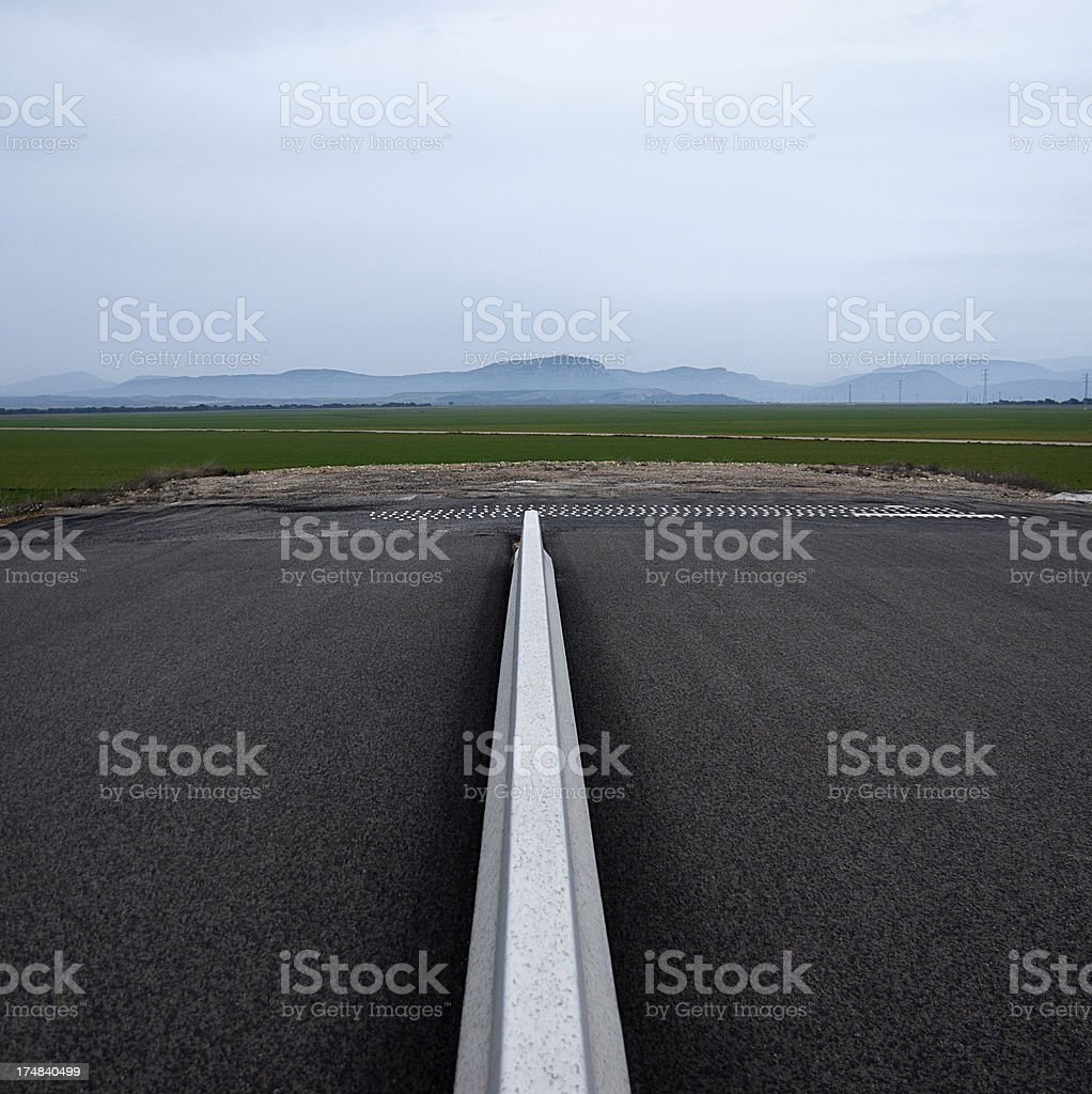 Road Without Exit stock photo