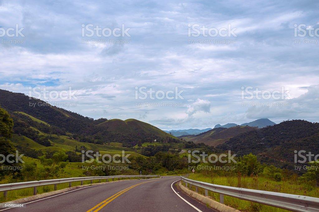 roads Brazil stock photo