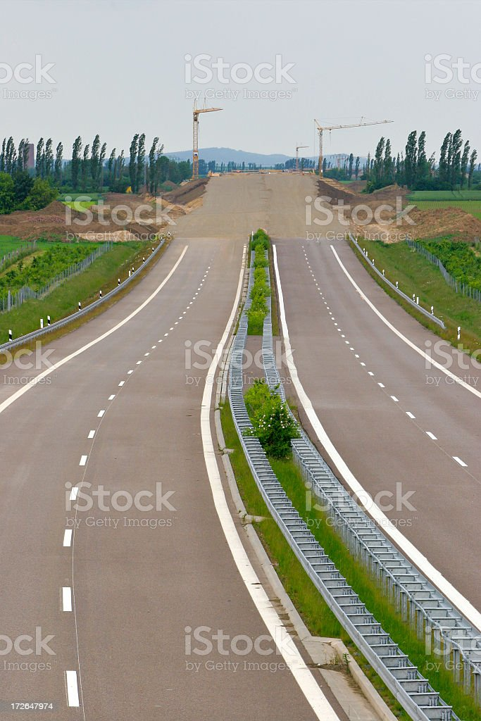 Roads End royalty-free stock photo