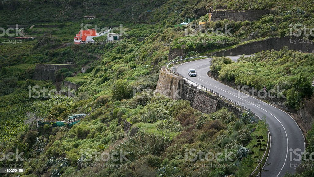 Roads of Gran Canaria royalty-free stock photo