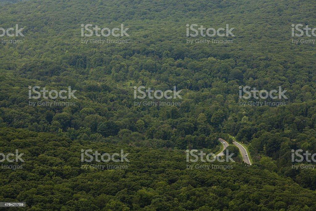 Roads royalty-free stock photo