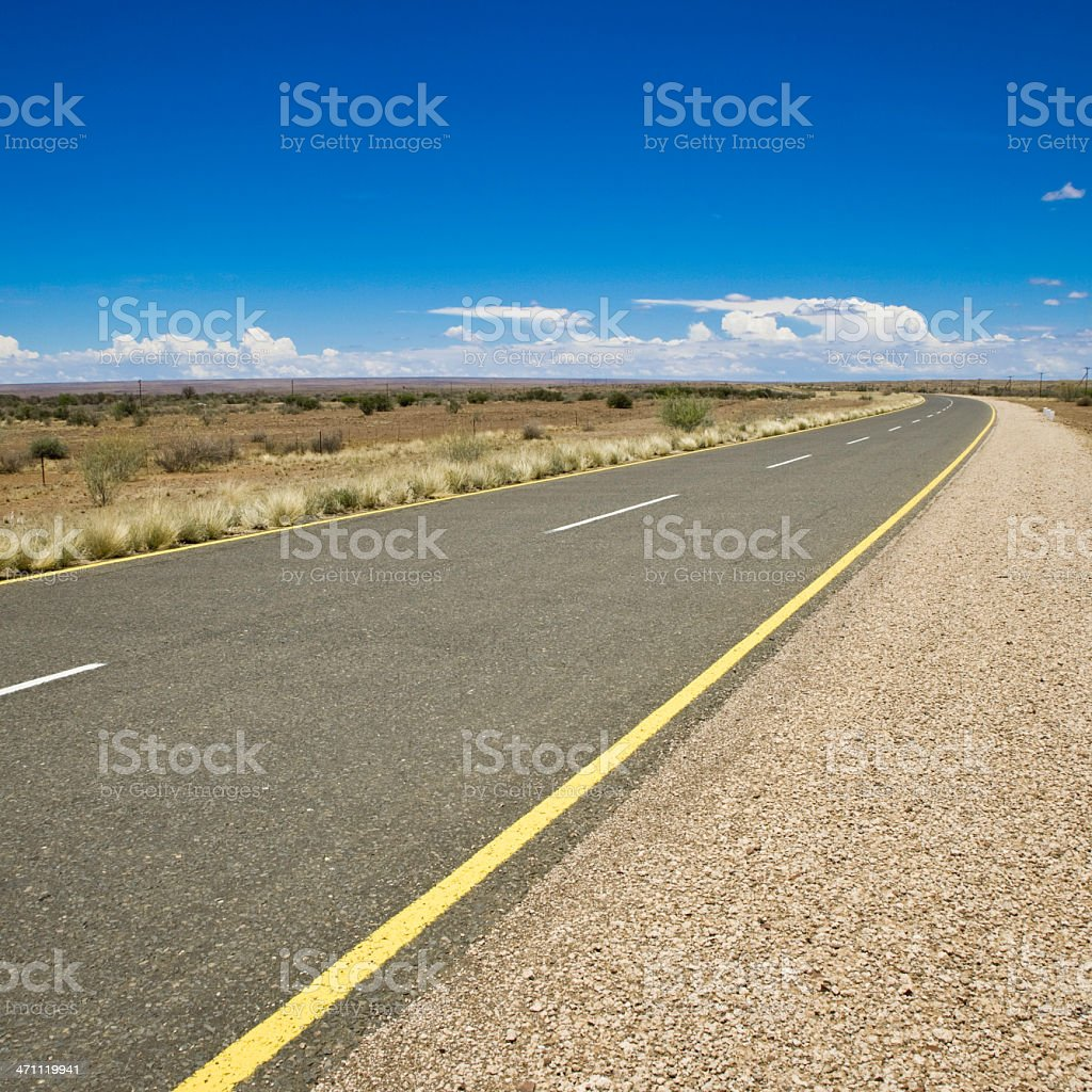 Roadside royalty-free stock photo