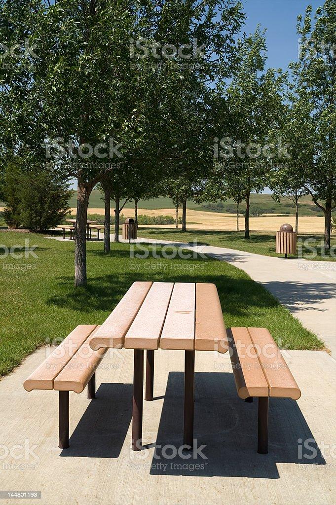 Roadside Rest Area stock photo