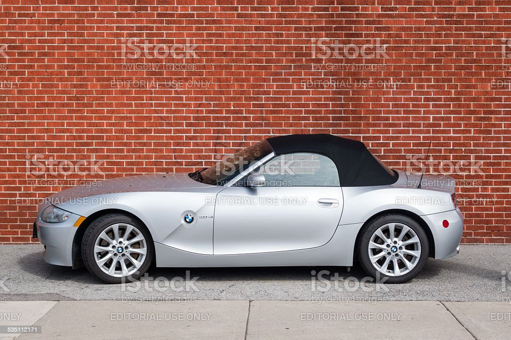 BMW Z4  Roadster Convertible stock photo