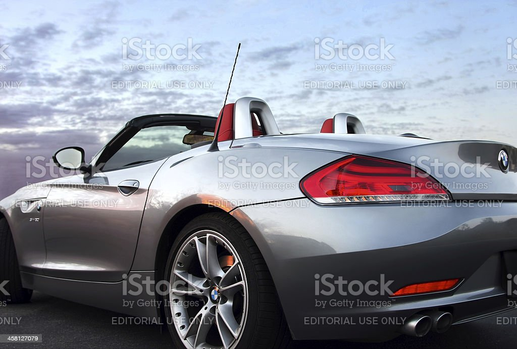 BMW Z4 roadster royalty-free stock photo
