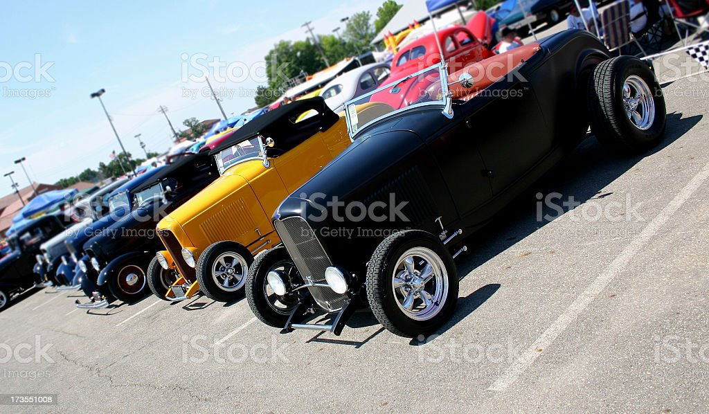Roadsters royalty-free stock photo