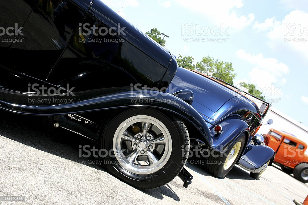 Roadsters stock photo
