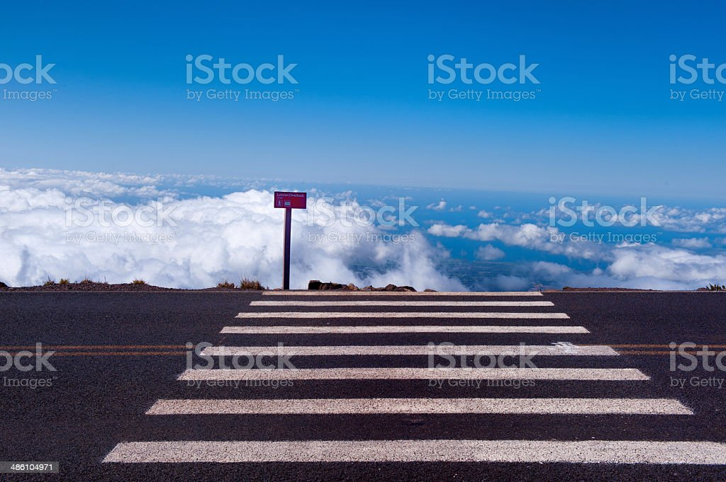Road,summer,cloudscape royalty-free stock photo