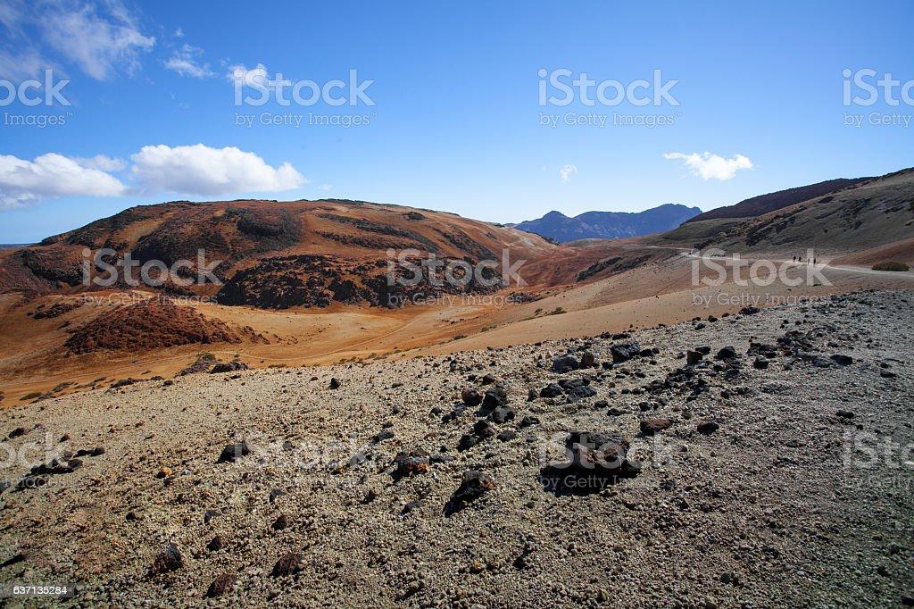 Roadtrip on Tenerife stock photo