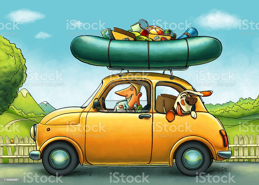 Roadtrip royalty-free stock photo
