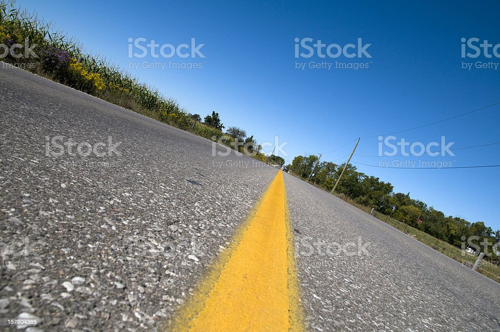 Roadway from Below, Concept royalty-free stock photo