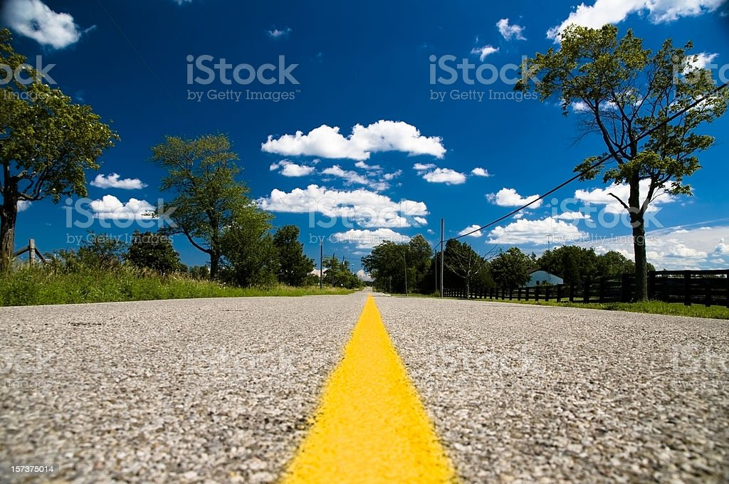 Roadway royalty-free stock photo