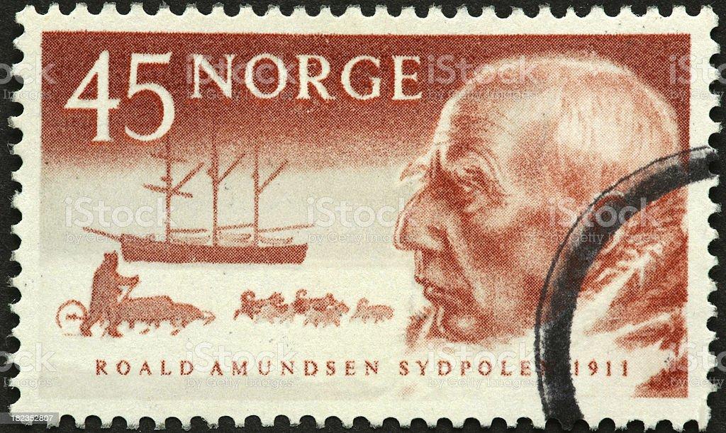 Roald Amundsen stock photo