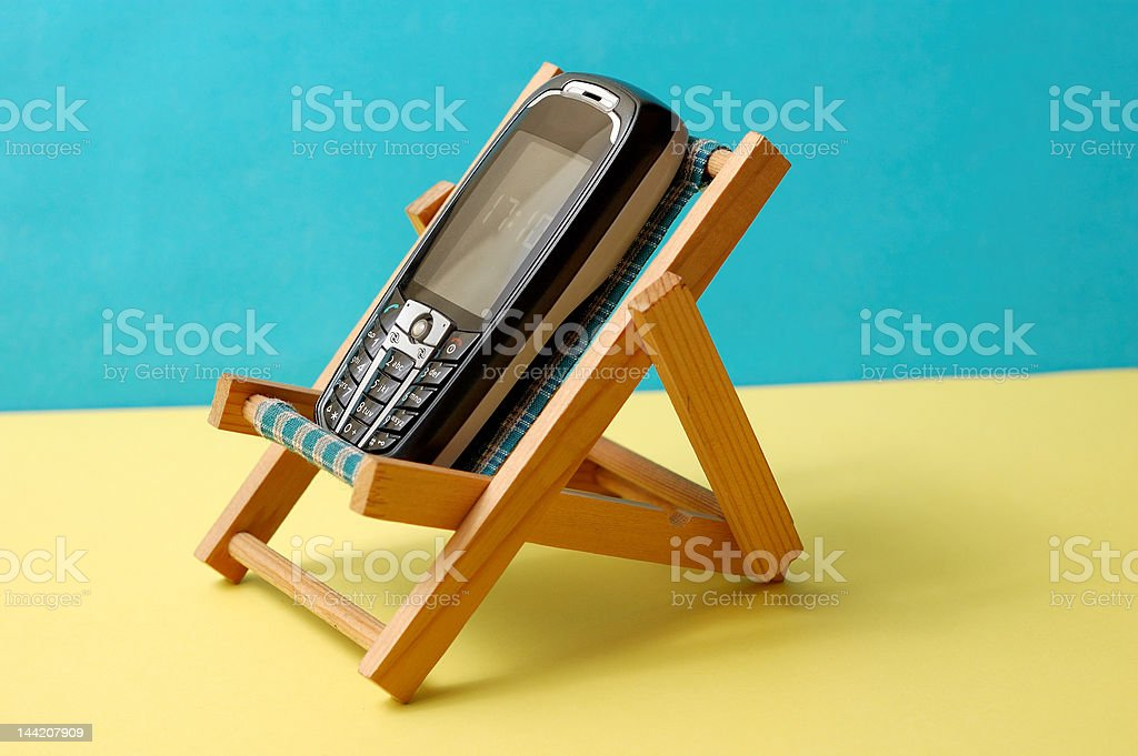 Roaming - stay connected during your holidays royalty-free stock photo