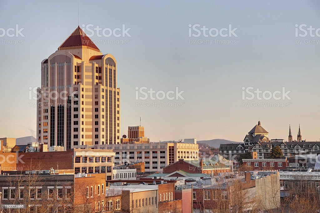 Roanoke royalty-free stock photo