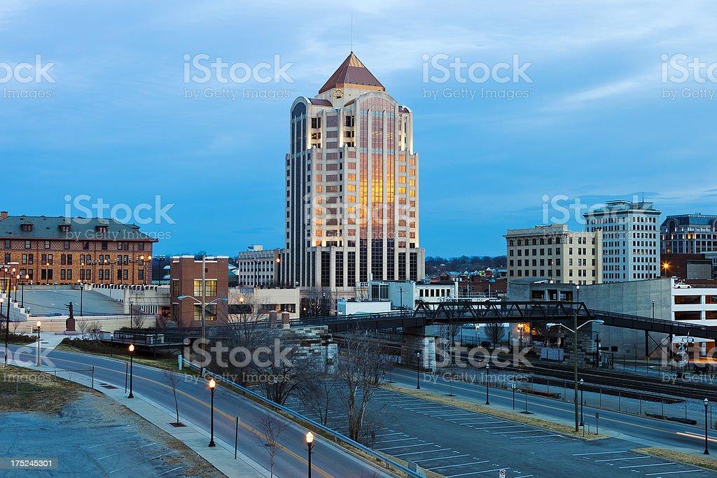 Roanoke, Virginia royalty-free stock photo