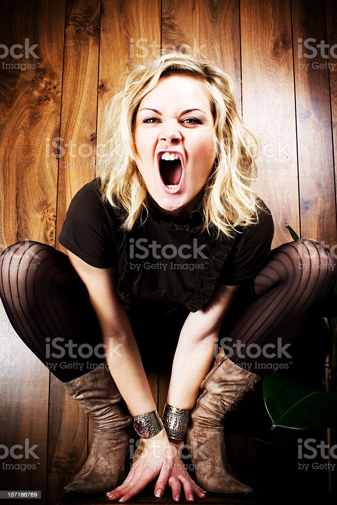 Roar royalty-free stock photo