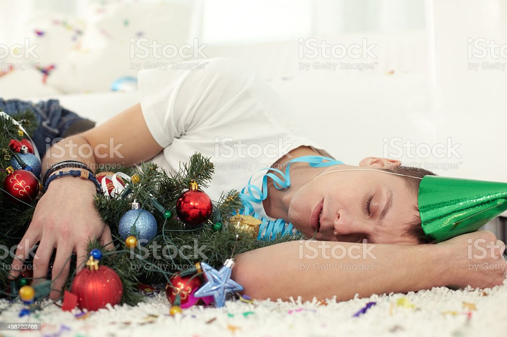 Roaring Christmas stock photo
