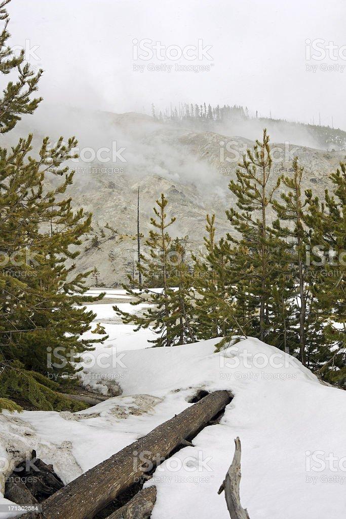 Roaring Mountain royalty-free stock photo
