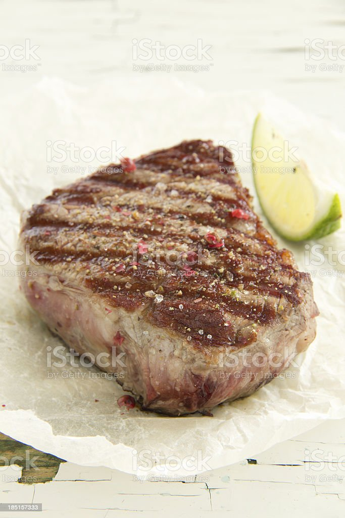 Roast beef, royalty-free stock photo