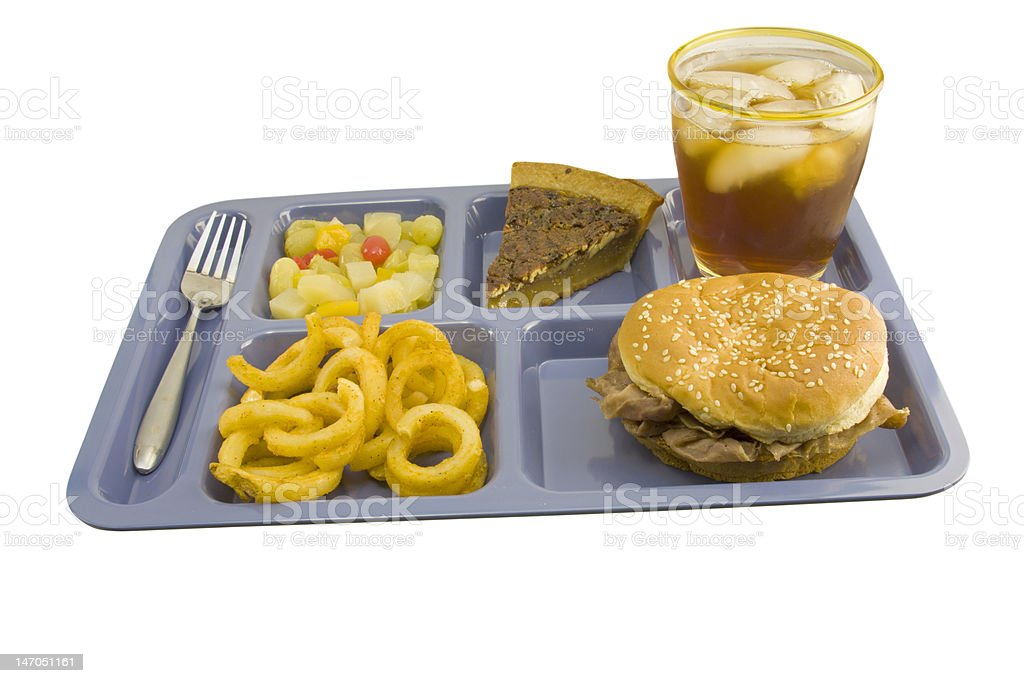 roast beef sandwich cafeteria royalty-free stock photo