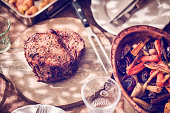 Roast Beef with Potatoes and Root Vegetables