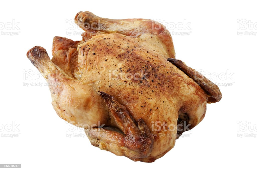 Roast Chicken royalty-free stock photo