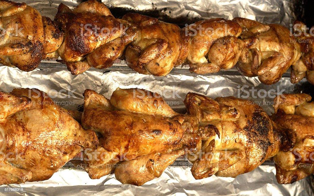 roast chiken stock photo