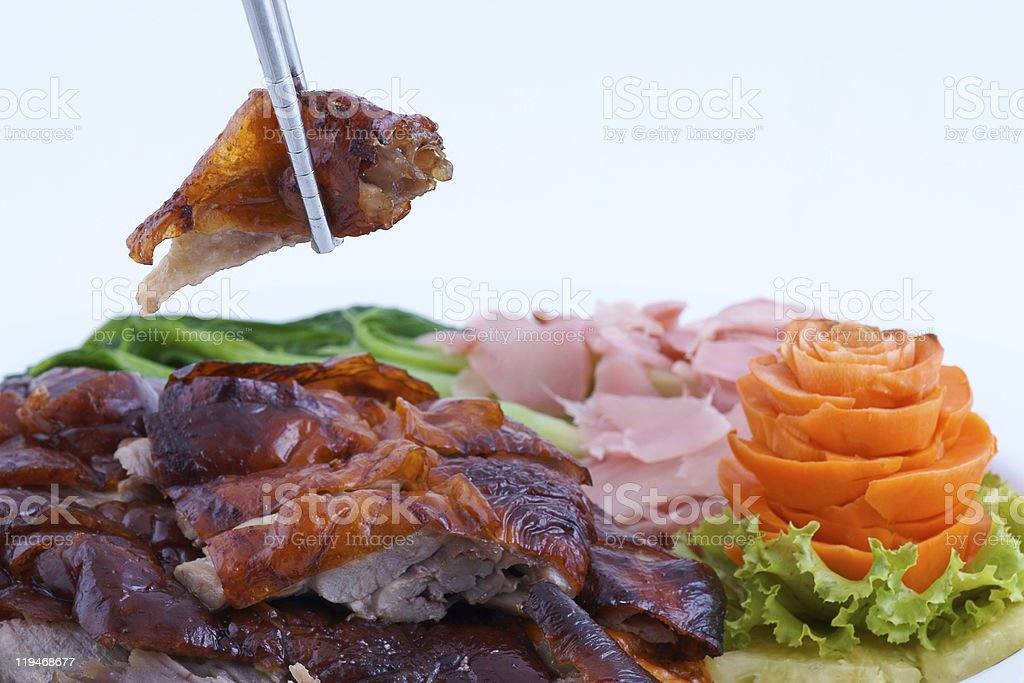 Roast duck chinese style royalty-free stock photo