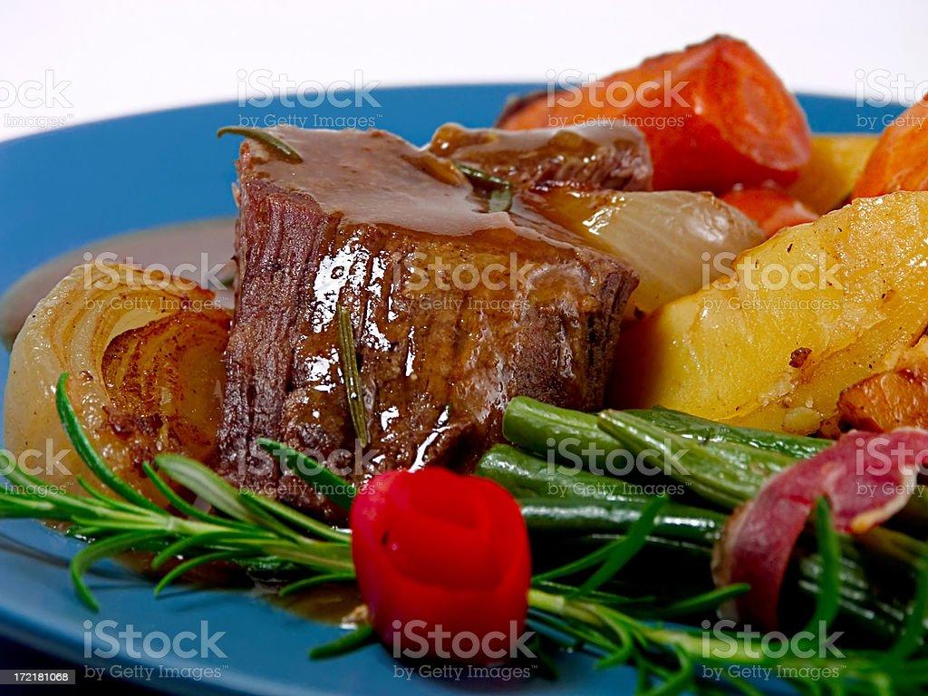 Roast royalty-free stock photo