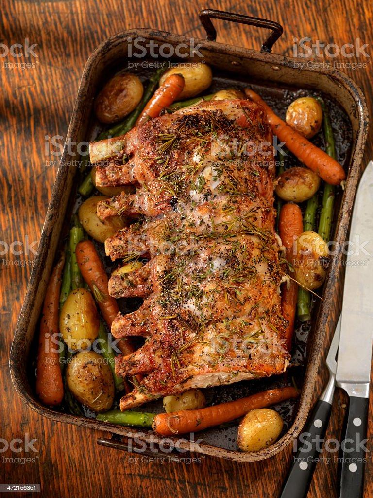Roast Pork stock photo