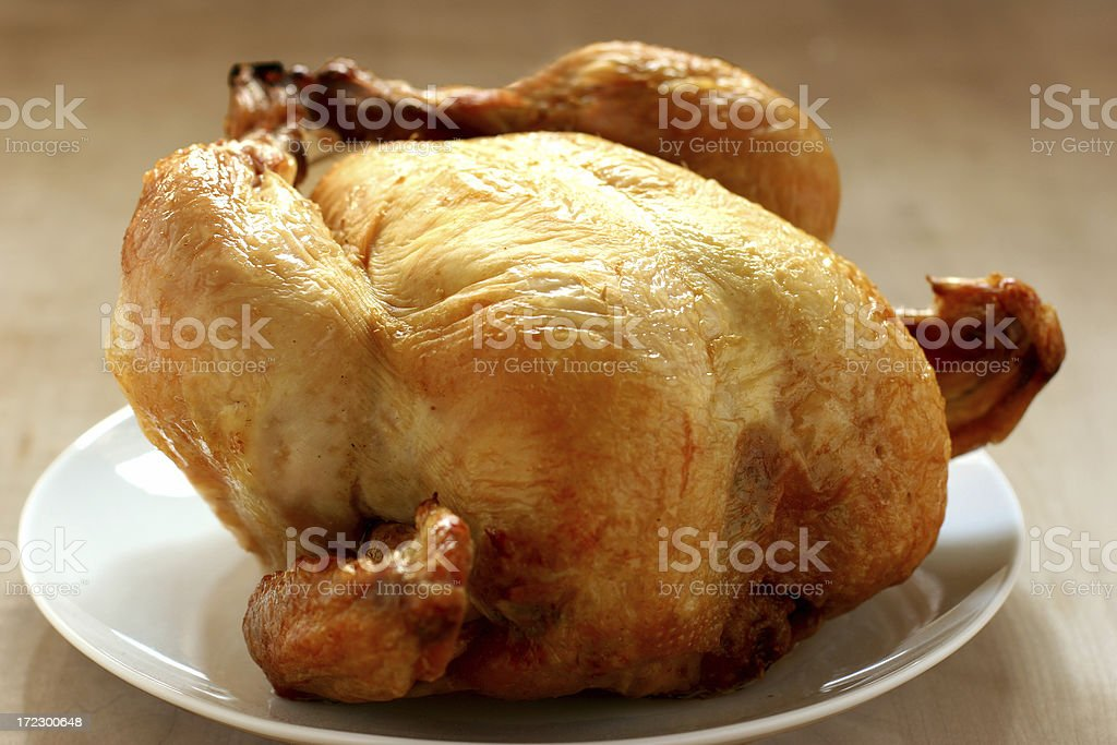 Roast Poultry royalty-free stock photo
