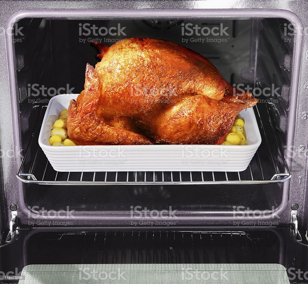 roast turkey royalty-free stock photo