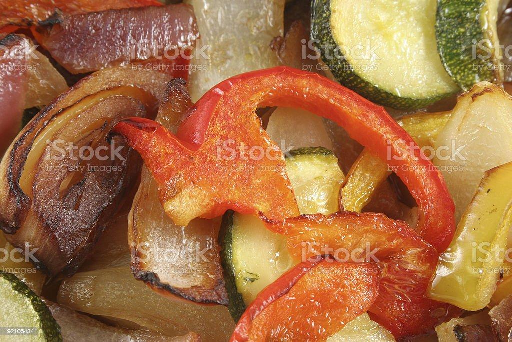 Roast Vegetables stock photo