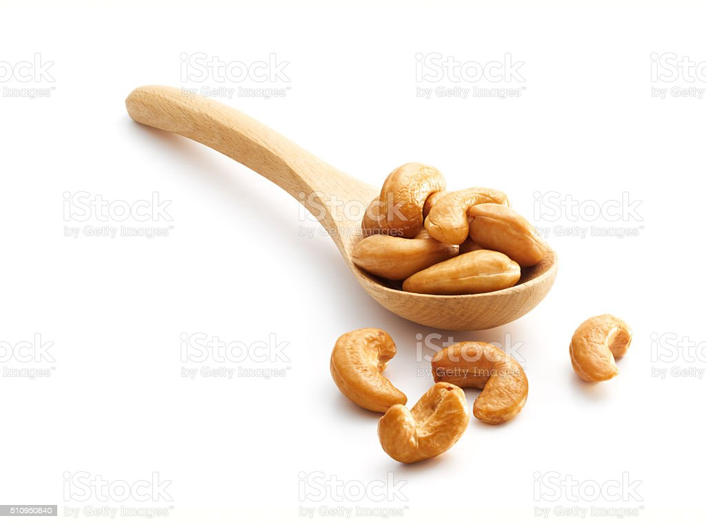 Roasted Cashew Nuts stock photo