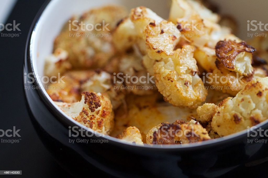 Roasted Cauliflower stock photo