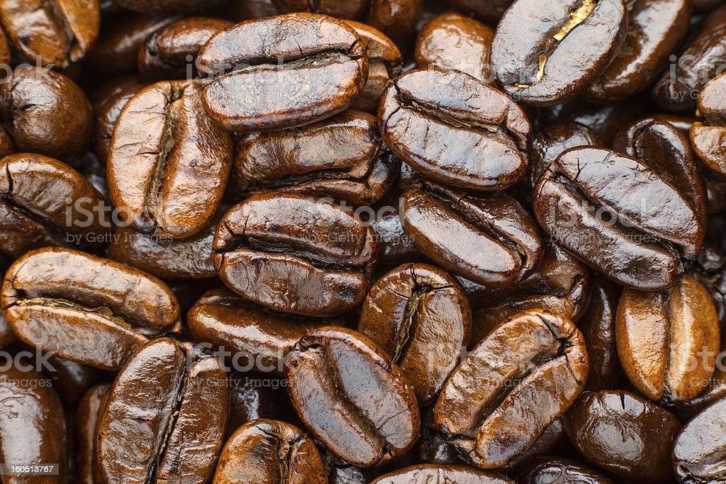 roasted coffee arabica royalty-free stock photo