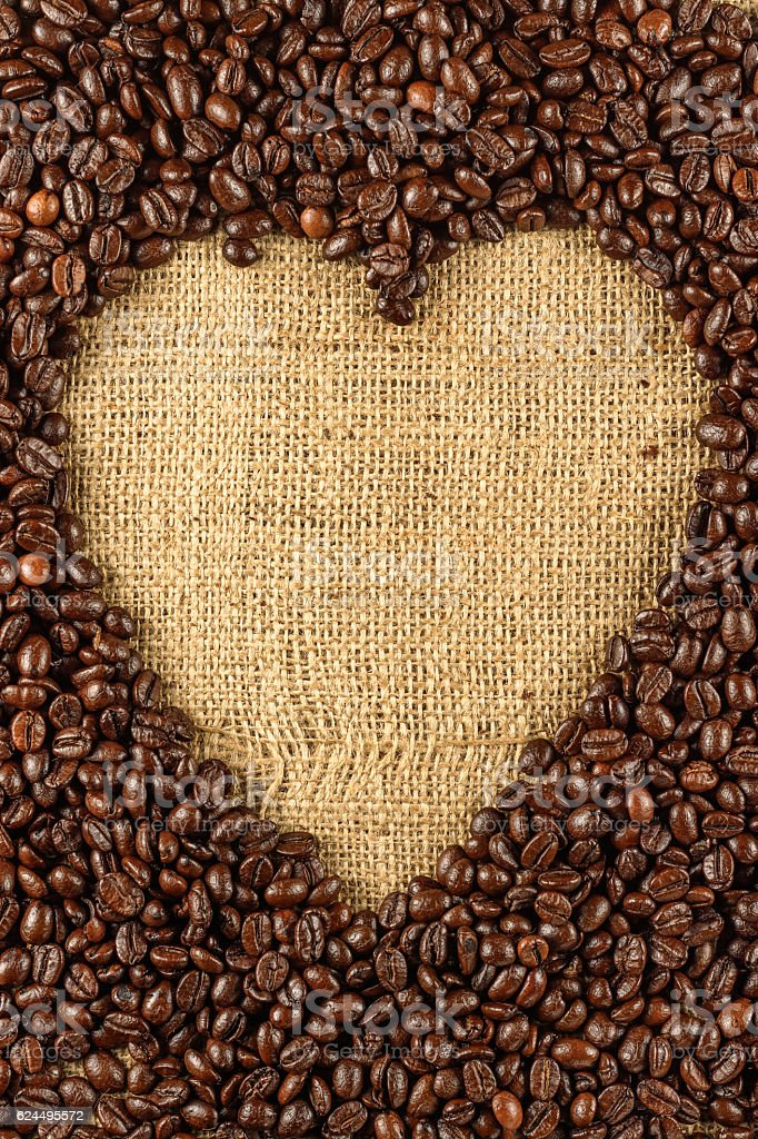 Roasted coffee bean background royalty-free stock photo