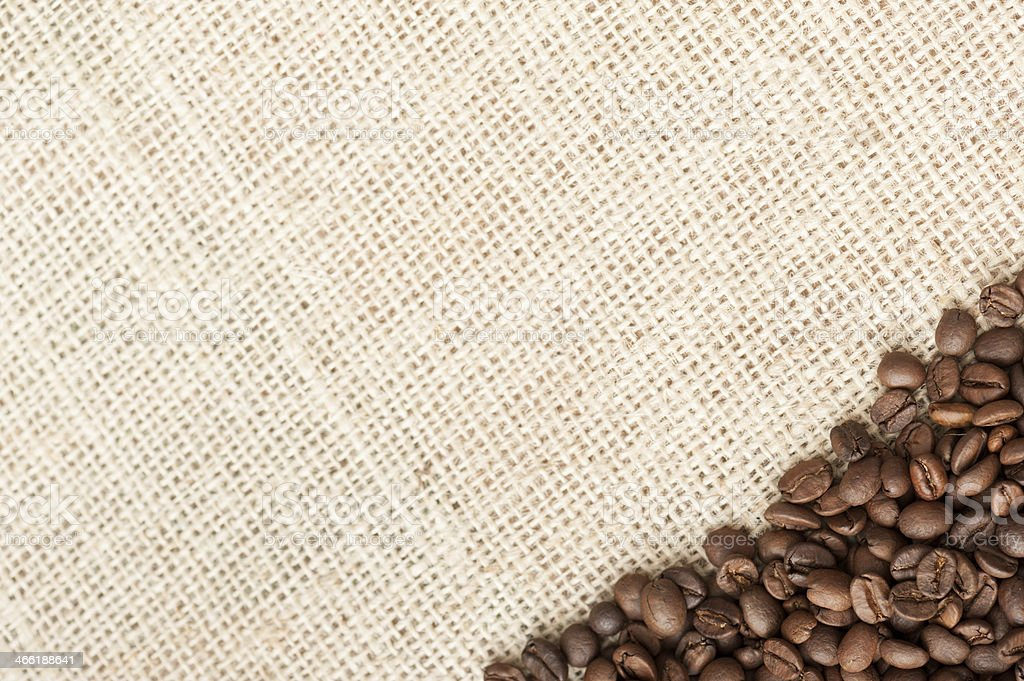 Roasted coffee royalty-free stock photo