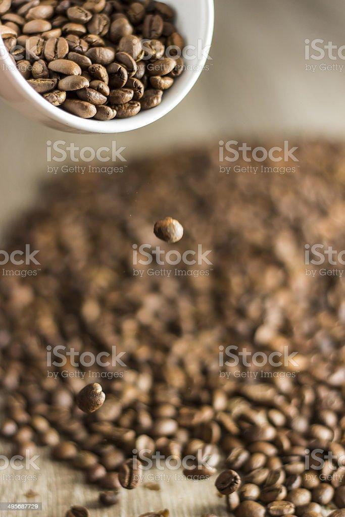 Roasted Coffee stock photo