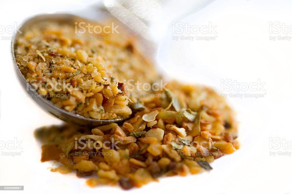 À l'ail rôti Condiments et aromates photo libre de droits