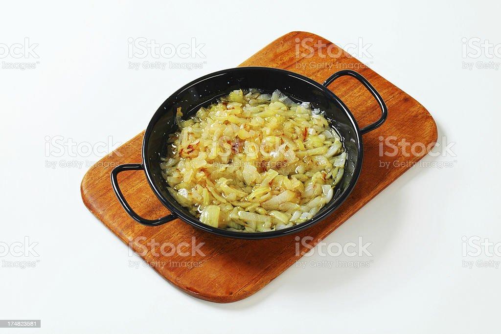 roasted onion royalty-free stock photo