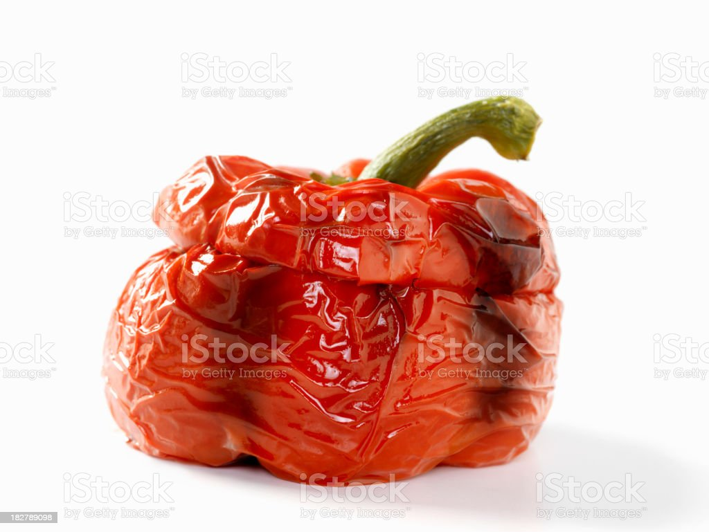 Roasted Red Pepper stock photo
